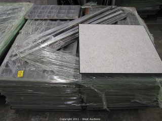 (3) Pallets ESD Tile 2' x 2'  (Anti-Static)