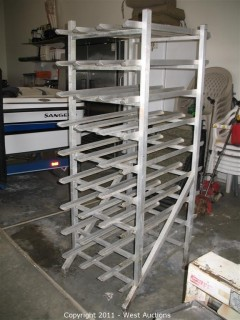 Pizza Rack with (9) Shelves