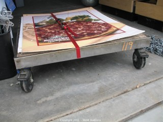 Rolling Oven Platform (base for Pizza Ovens)
