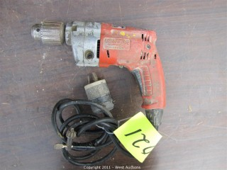 "Milwaukee Magnum Hole Shooter 1/2"" VSR Drill"