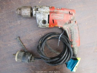 "Milwaukee 0234-1 Hole Shooter 1/2"" VSR Drill"
