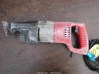 Milwaukee Heavy Duty Sawzall