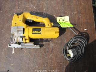 DeWalt DW321 Variable Speed Jig Saw