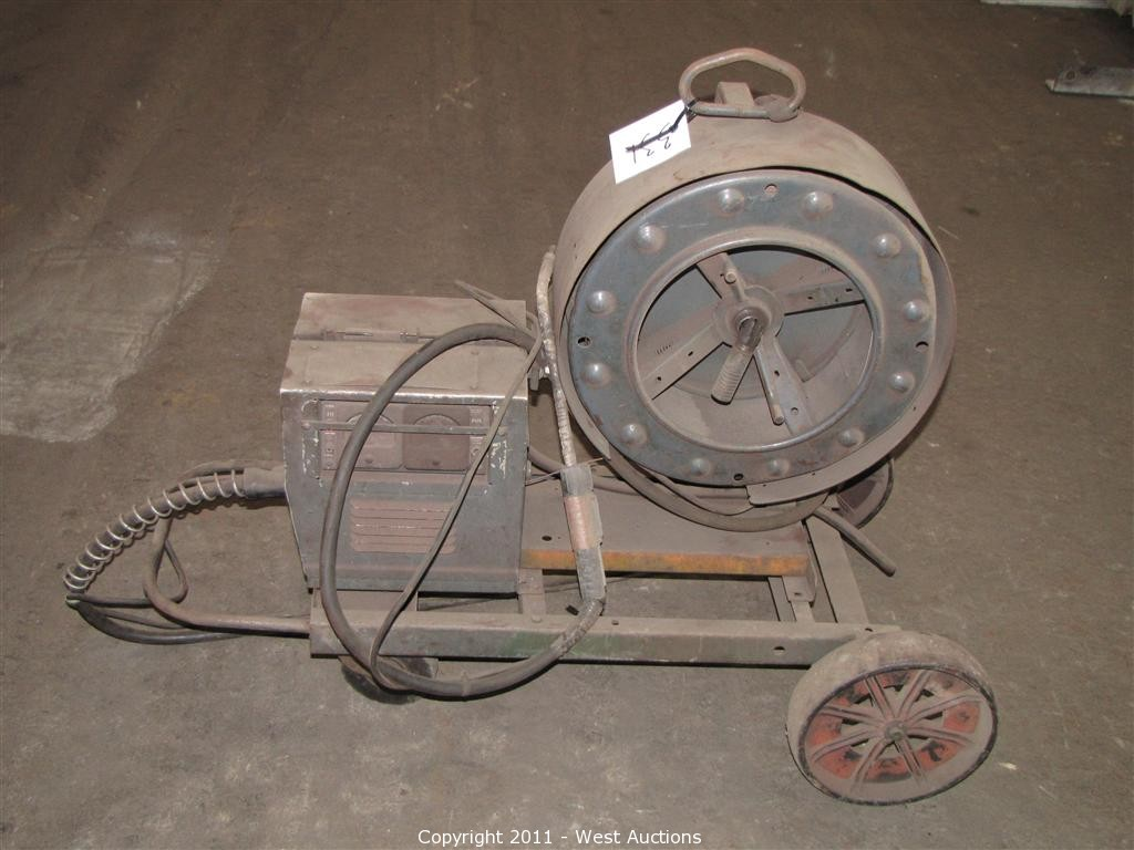West Auctions Auction Metalworking Equipment Utility