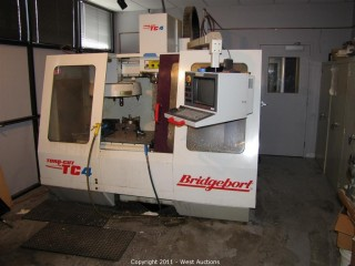 Bridgeport Toro-Cut TC4 Vertical Machining Center - CNC