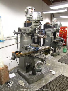 Bridgeport Industrial-Duty Milling Machine with Bausch & Lomb Acu-Rite III Digital Readout