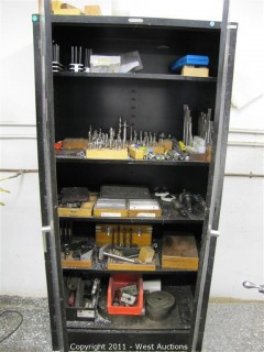Steel Cabinet & Machinists' Tools
