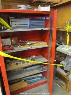 Eagle P1-47 Storage Cabinet and Drill Bits