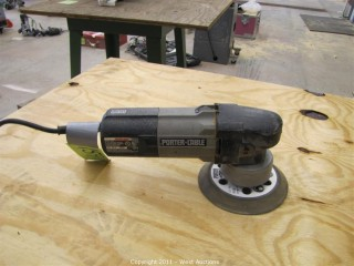 Porter Cable Random Orbit Sander