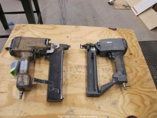 (1) Duofast and (1) Senco Finish Nail Gun