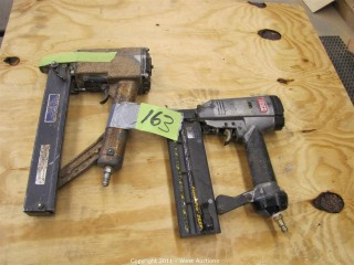 (2) Finish Nail Guns