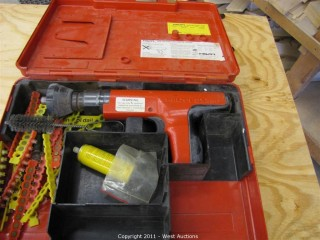 Hilti DX350 Powder Gun