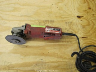 "Milwaukee 4 1/2"" Angle Grinder"