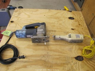 (1) Bosch Jig Saw and (1) Martin Cast Cutter