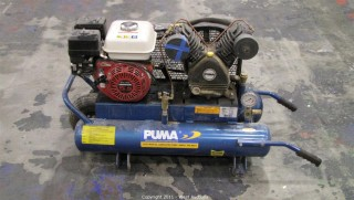 Puma Gasoline Powered Dual Tank Compressor