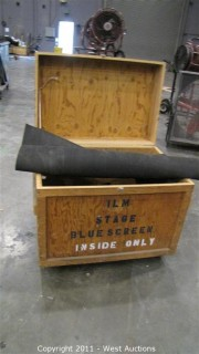 Variety Lot - Rolling Box with Hinging Lid, Rubber Mats