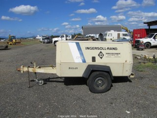 Ingersoll-Rand Compressor Trailer