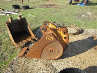 WB Backhoe Tooth Bucket