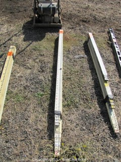 (3) Survey Rods