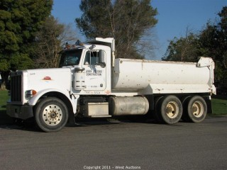 1988 Peterbilt 378 Dump Truck in Woodland, CA