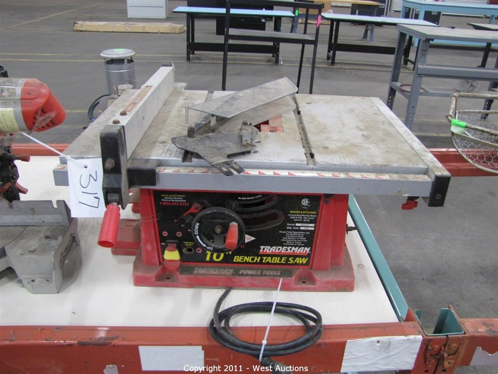 West Auctions Auction Surplus Liquidation Auction In Oroville Ca Item Tradesman 10 Bench