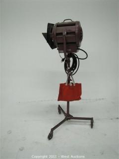 Mole Richardson Type 412 Junior Solarspot on Stand