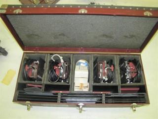 Mole Richardson Type 5711 Molequartz One-Light Molefay and Accessory Carrying Case