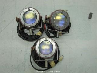 (3) Mole Richardson Type 5521 Single Molefays