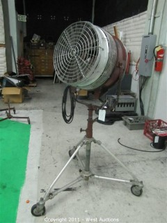 Mole Richardson Wind Machine and Rolling Stand