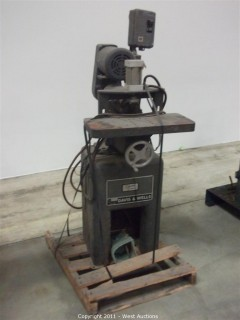 Davis & Wells Horizontal Boring Machine Model DBM-64
