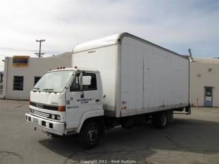 1992 Isuzu Box Truck