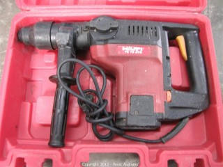 Hilti TE 76 ATC ElectricRoto Hammer in Case