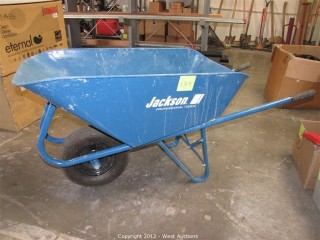 Jackson Narrow Tray Wheelbarrow