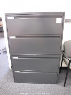 (2) Steel File Cabinets