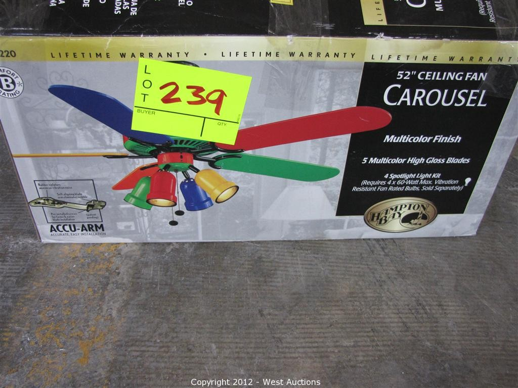 Hampton bay ceiling fan warranty - Summer Hill Bankruptcy Liquidation Auction 3