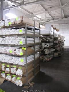 (8) Assembled Steel Shelves