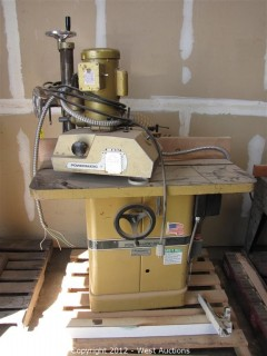 PowerMatic 27 Shaper Machine