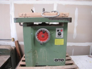 EMA FV90 Single Spindle Shaper