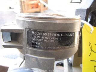 Porter Cable 6911 Router Cable Base