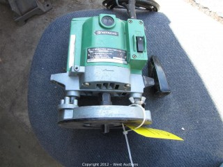 "Hitachi 1/2"" Electric Router Type TR12"