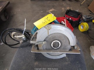 "7"" Makita Circular Saw"