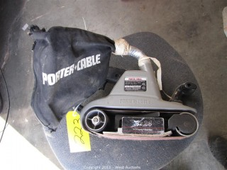 Porter Cable 362 Belt Sander with Dust Pick-Up