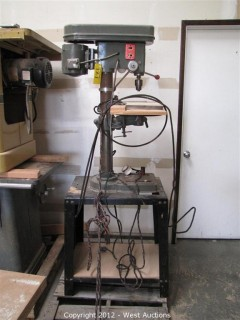 Packard Precision Drill Press with Metal Bench