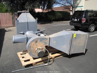 Torit Dust Collector with Hopper Base