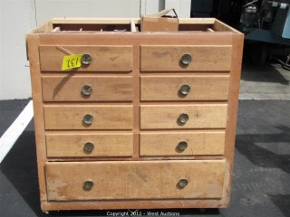 Cabinet with Dado Knives