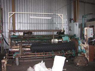 Bergandi Chain Link Fence Machine