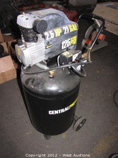 Central Pneumatic Portable Electric Air Compressor