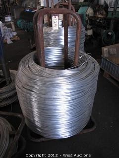 (1) Steel Wire Spool with Wire Stock