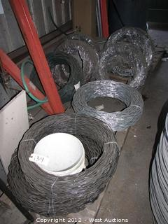 (10) Rolls of Chain Link Fence Wire