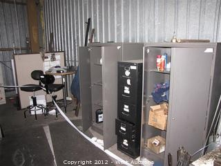 Scrap Steel, File Cabinets, Chairs